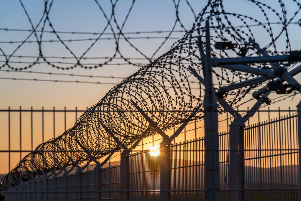 insulation, prison, wire